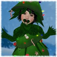 Christmas Tree Costume For Kids - second life marketplace charisma kids christmas tree costume box