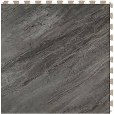 shop perfection floor tile gemstone 6 20 in x 20 in border