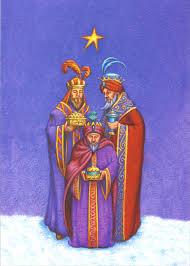 embossed 3 kings christmas card by image arts