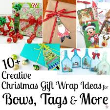 christmas gift bows creative christmas gift wrapping ideas bows tags more