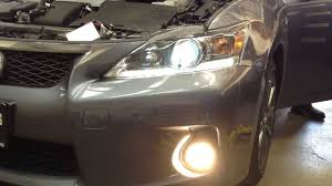 lexus ct forum uk how to install replace lexus ct200h hid headlights youtube