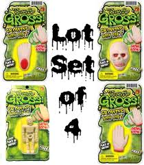 bloody zombie food human brain body parts halloween horror props