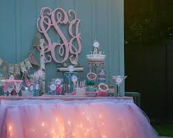 candy bar lighted pink party ideas fun candy bar at our