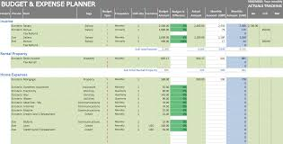 Household Expense Spreadsheet Excel Personal Expense Tracker 7 Templates For Tracking