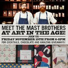 where to buy mast brothers chocolate mast brothers chocolate book signing event this friday at in