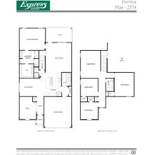 Dr Horton Floor Plans Texas Plan 2574 Rancho Verde Houston Texas D R Horton
