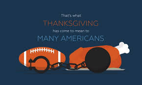 thanksgiving means food football and oppression prageru sets