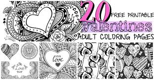 20 free printable valentines coloring pages nerdy mamma