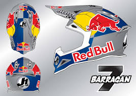 ktm motocross helmets just 1 helmets and jonathan barragan together in the 2012 mx1