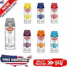 is paint any krylon stained glass aerosol spray translucent paint any