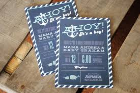 whale baby shower invitations nautical inspired whale baby shower invitation ahoy it s a boy