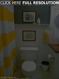 blue and yellow bathroom bathroom decor