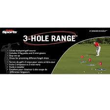 amazon com new pride golf 3 hole range green red swing trainers