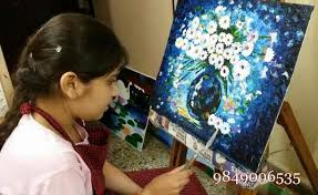 oil painting cl in ameerpet canvas painting cl in ameerpet art cl in ameerpet all types