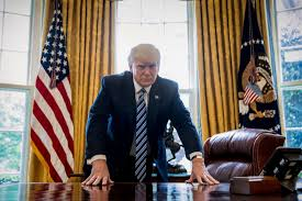 trump oval office pictures president donald trump at 100 days a different presidency news