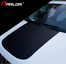 jeep hood decals 3d carbon fiber film protection scratch hood bonnet sticker and