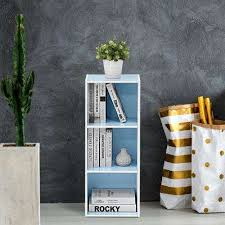 Blue Bookcases Bookcase 3 Blue Bookcases Home Office Furniture The Home