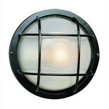 Bulkhead Outdoor Lights Bel Air Lighting Bulkhead 1 Light Black Outdoor Wall Or Ceiling