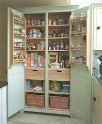 Free Standing Kitchen Pantry Furniture Free Standing Kitchen Pantry Storage Cabinet Home Design Ideas