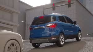 exclusive the all new 2018 2018 ford ecosport compact suv compact features big
