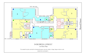 fire escape floor plan 34 buswell street housing boston university
