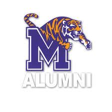 alumni decal mini m tiger of alumni decal sticker