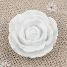 white rose necklace images 2018 white rose beads 45mm chunky beads plastic flower bead large jpg