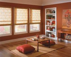 Window Blinds Curtains by Windows Blinds For Big Windows Designs Lovely Creamy Curtain