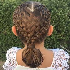 hairsytle kepang rambut mom creates beautiful intricate braids in daughter s hair today com
