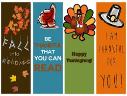 thanksgiving and fall bookmarks reading gifts for students