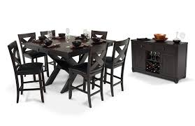 x factor counter 8 piece set bob u0027s discount furniture