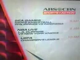 ABS CBN Sports Action mercials