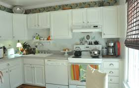 Adding Kitchen Cabinets Diy Beadboard Wallpaper Cabinets Nest Of Bliss Intended For