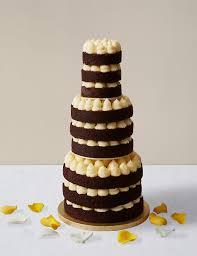style chocolate u0026 vanilla wedding cake m u0026s