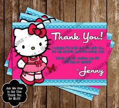 Invitation Card Hello Kitty Novel Concept Designs Hello Kitty Character Birthday Party