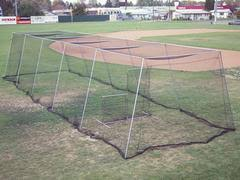 batting cage nets with frame kits best sports direct