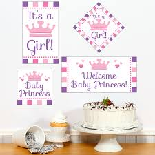 princess baby shower princess baby shower diy party sign cutouts