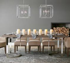 Pottery Barn Dining Room Furniture Salvaged Wood Dining Table Gray Best Gallery Of Tables Furniture