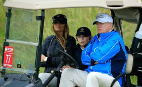 photos of barron trump show that the 10 year old is already living