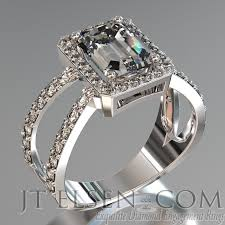 palladium engagement rings pave diamond enagement rings antique style engagement ring