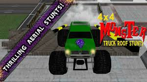 bigfoot monster truck games 4x4 monster truck roof stunts android apps on google play