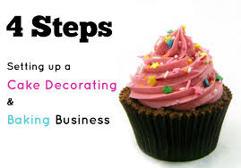 4 steps to setting up a cake decorating or baking business angel