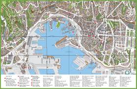 City Map Of Torino Turin by Tourist Map Of Genoa City Centre
