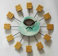 modern kitchen wall clocks silverware steel kitchen utensils