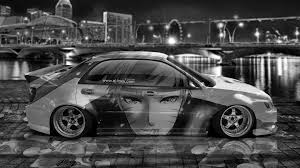 subaru cars white subaru impreza wrx sti jdm tuning anime boy city car 2015 el tony