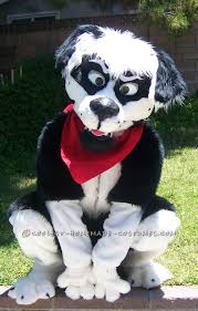 Dog Halloween Party Ideas Cool Homemade Border Collie Dog Costume Collie Dog Halloween