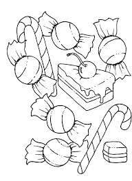 candy coloring page gallery for website candy coloring pages at