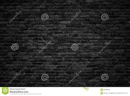 black brick wall dark background for design stock photo image