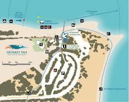 Mia Airport Map Monkey Mia Shark Bay