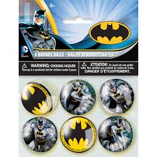 batman bouncy ball party favors 6ct walmart com